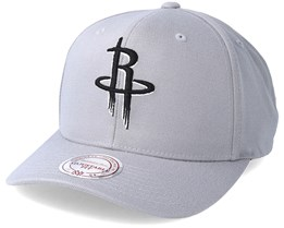 Houston Rockets Gull Grey Adjustable - Mitchell & Ness