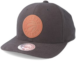 Toronto Raptors Gum Charcoal Adjustable - Mitchell & Ness