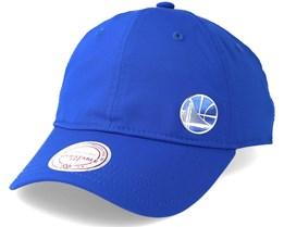 Golden State Warriors Blue Adjustable - Mitchell & Ness