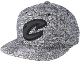 Cleveland Cavaliers Ease Grey Snapback - Mitchell & Ness