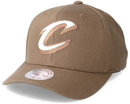 Cleveland Cavaliers Flexfit 110 Camel Adjustable - Mitchell & Ness