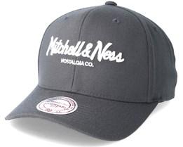 Pinscript 110 Charcoal Grey Adjustable - Mitchell & Ness