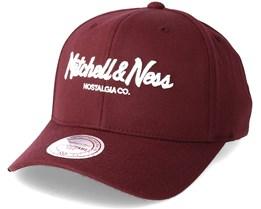 Pinscript 110 Maroon Adjustable - Mitchell & Ness