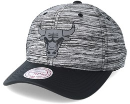 Chicago Bulls Swish Grey/Black Adjustable - Mitchell & Ness