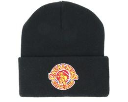 Cleveland Cavaliers Team Logo Knit Black Cuff - Mitchell & Ness