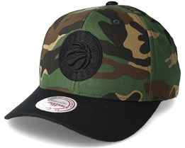 Toronto Raptors 110 Flexfit Camo Adjustable - Mitchell & Ness