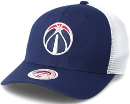 Washington Wizards Trucker Mesh Navy Flexfit - Mitchell & Ness