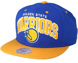 Golden State Warriors  Team Arch Royal Snapback - Mitchell & Ness