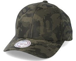 All Over Leather Camo Adjustable - Mitchell & Ness