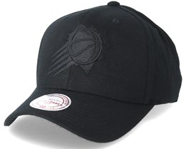 Phoenix Suns Flexfit 110 Black/Black Adjustable - Mitchell & Ness