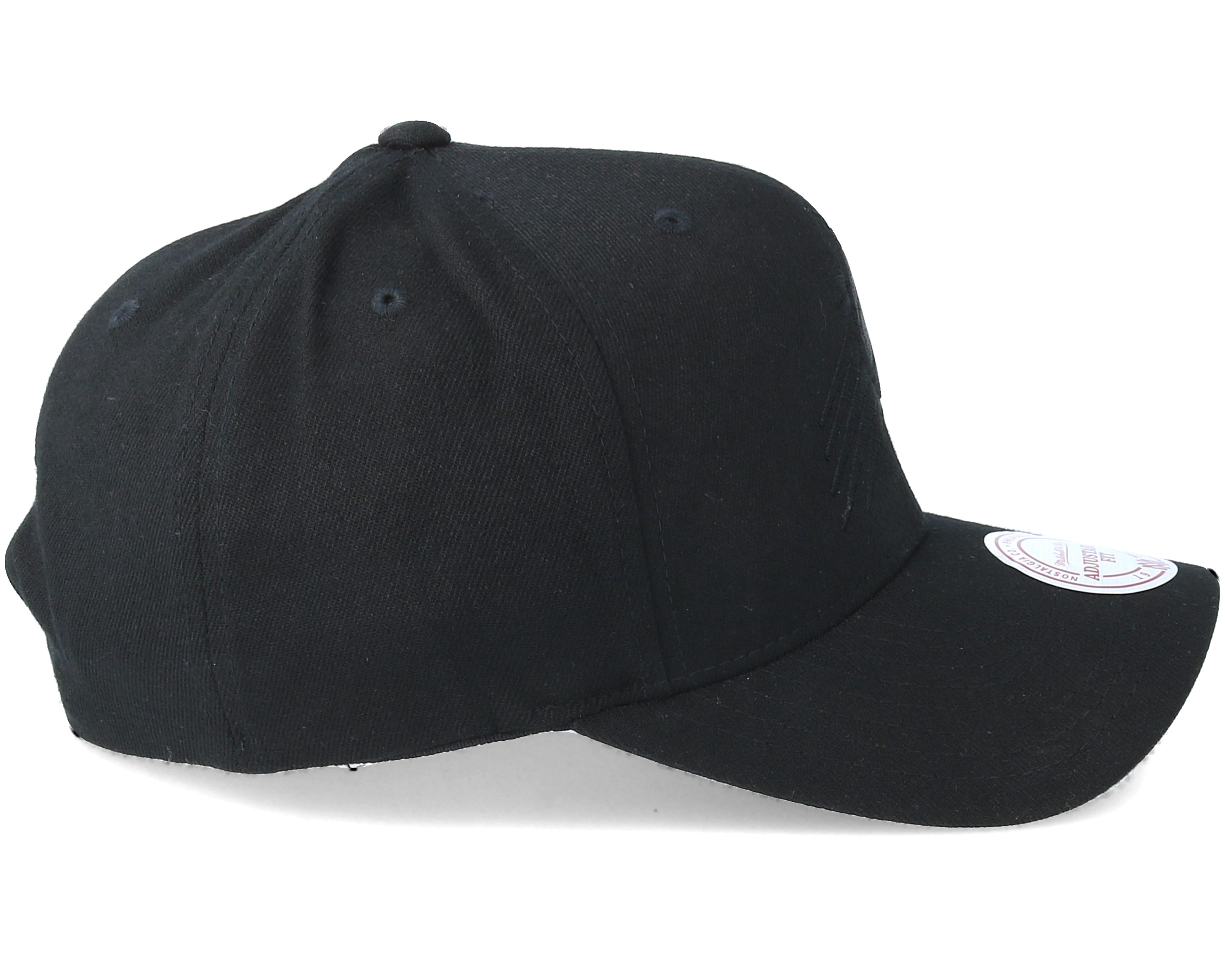 phoenix suns flexfit 110 black black adjustable mitchell. Black Bedroom Furniture Sets. Home Design Ideas