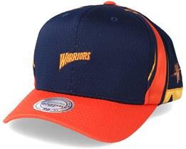Golden State Warriors Jersey Hook & Loop Navy Adjustable - Mitchell & Ness