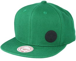 Boston Celtics Little Logo Green Snapback - Mitchell & Ness