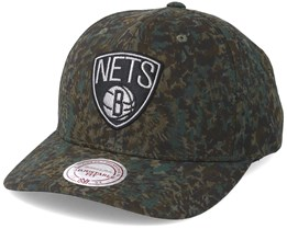 Brooklyn Nets Abstract Camo Adjustable - Mitchell & Ness