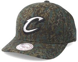 Cleveland Cavaliers Abstract Logo Camo Adjustable - Mitchell & Ness