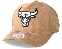 Chicago Bulls Classic Khaki Adjustable - Mitchell & Ness