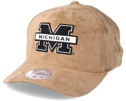 University Of Michigan Classic Khaki Adjustable - Mitchell & Ness