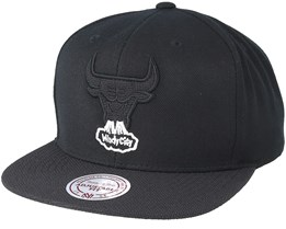Chicago Bulls Full Dollar 2 Black Snapback - Mitchell & Ness