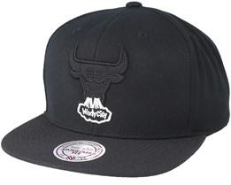 Chicago Bulls Full Dollar 2 Black Snapback - Mitchell & Ness