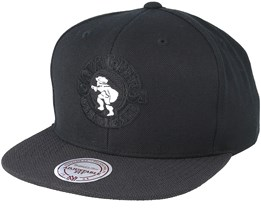 Cleveland Cavaliers Wool Solid Black Snapback - Mitchell & Ness