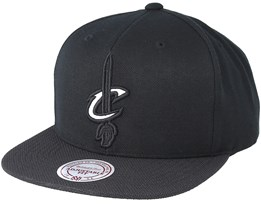 Cleveland Cavaliers Full Dollar Black Snapback - Mitchell & Ness