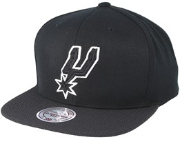 San Antonio Spurs Full Dollar Grey Snapback - Mitchell & Ness