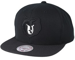 Memphis Grizzlies Full Dollar Black Snapback - Mitchell & Ness