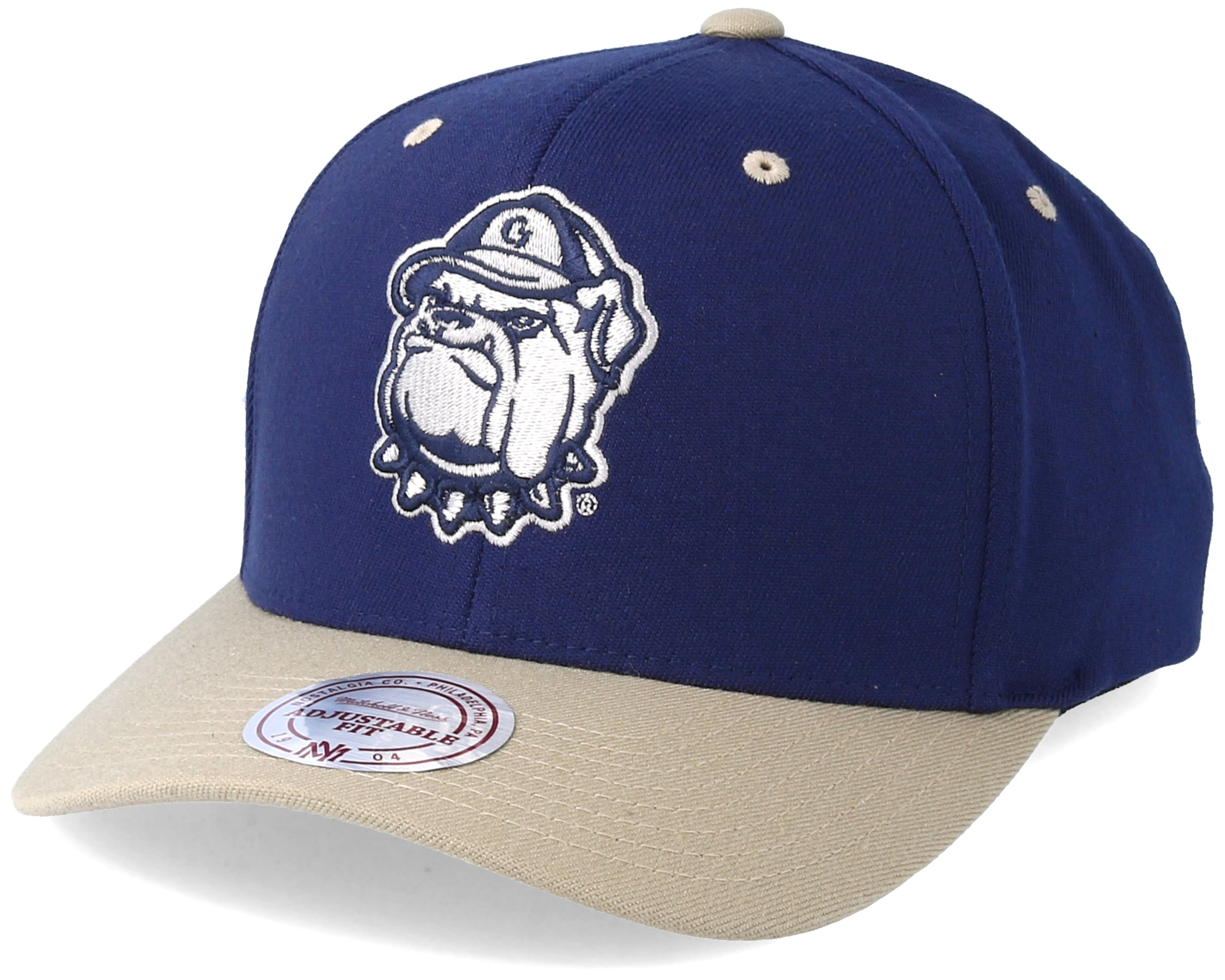 Georgetown university team logo 2 tone 110 navy adjustable for Georgetown tattoo shops