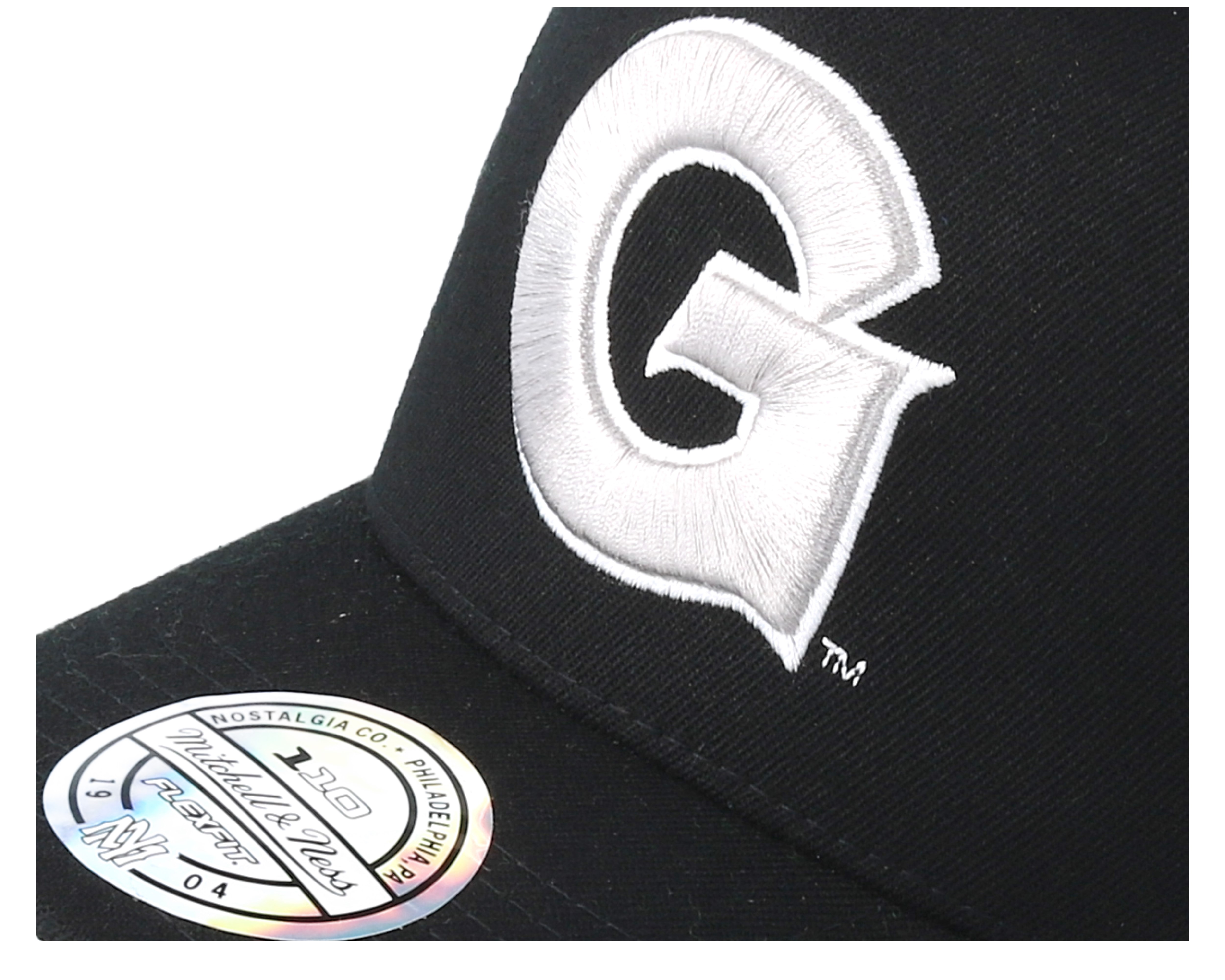 Georgetown hoyas eazy black 110 adjustable mitchell for Georgetown tattoo shops