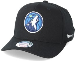 Minnesota Timberwolves Eazy Black 110 Adjustable - Mitchell & Ness
