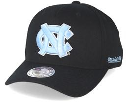 North Carolina Tarheels Eazy Black 110 Adjustable - Mitchell & Ness