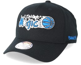 Orlando Magic Eazy Black 110 Adjustable - Mitchell & Ness