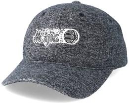 Orlando Magic Brushed Jersey Grey Adjustable - Mitchell & Ness