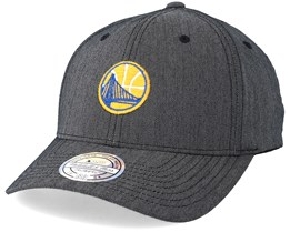 Golden State Warriors Poly Heringbone Grey 110 Adjustable - Mitchell & Ness