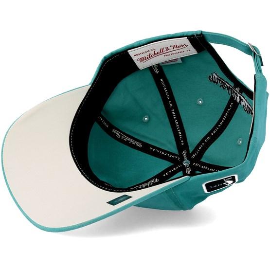 buy online ba7d2 0bf52 Charlotte Hornets Haze Teal Adjustable - Mitchell   Ness caps    Hatstore.co.uk