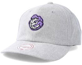 Toronto Raptors Haze Grey Adjustable - Mitchell & Ness