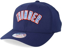 Oklahoma City Thunder Courtside 2 Navy 110 Adjustable - Mitchell & Ness