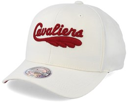 Cleveland Cavaliers Courtside 2 Cream 110 Adjustable - Mitchell & Ness