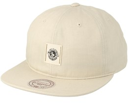 Cleveland Cavaliers Low Profile Cream Strapback - Mitchell & Ness