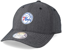 Philadelphia 76ers Heringbone Grey 110 Adjustable - Mitchell & Ness