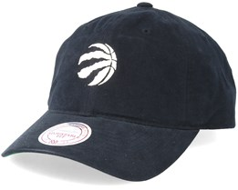 Toronto Raptors Workmens Strapback Black Adjustable - Mitchell & Ness