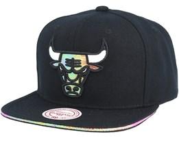 Chicago Bulls Dark Hologram II Hwc Black Snapback - Mitchell & Ness