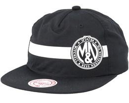 Own Brand Reflective Strope Pinch Panel Black Snapback - Mitchell & Ness