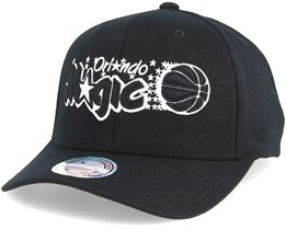 Orlando Magic Black & White 110 Adjustable - Mitchell & Ness
