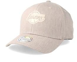 La Lakers Haze Grey Adjustable - Mitchell & Ness