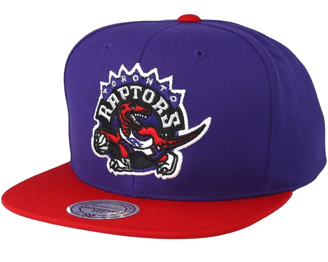 brand new 7f892 17da9 Toronto Raptors Satin Fused Purple Snapback - Mitchell   Ness