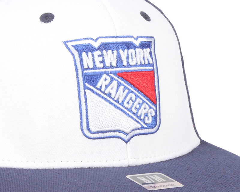 ny rangers basic league fitted reebok casquette. Black Bedroom Furniture Sets. Home Design Ideas