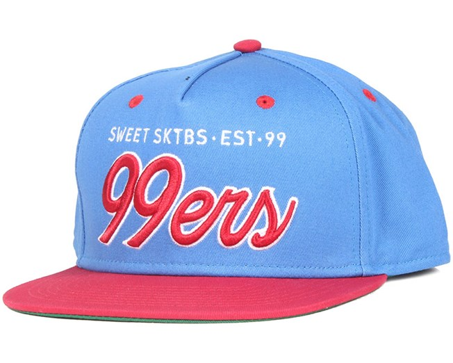 99ers Blue/Red Snapback - Sweet