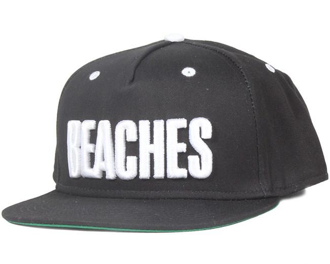 Beach Black Snapback - Sweet
