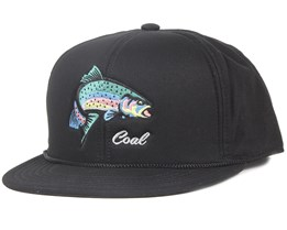The Wilderness Black Snapback - Coal
